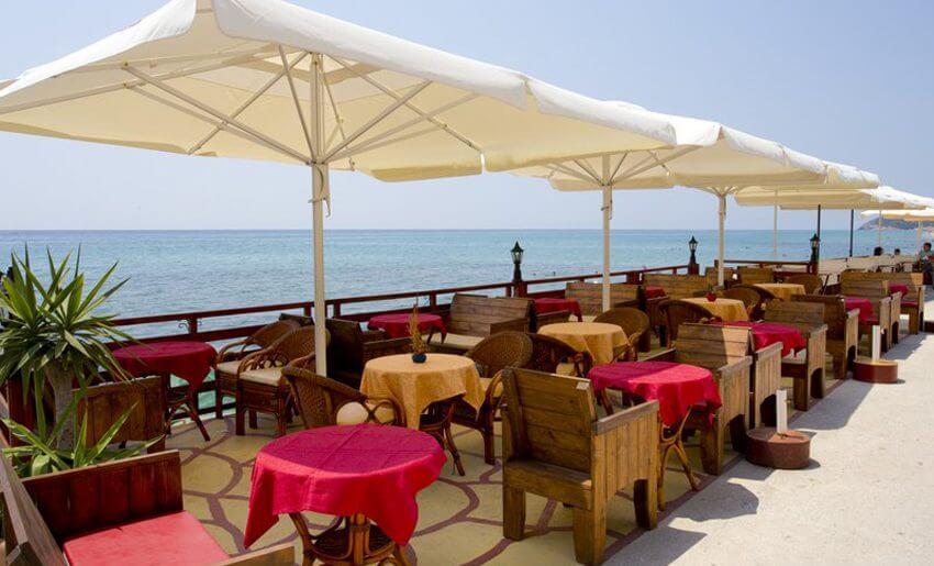 Agali Hotel limenarija tasos restoran