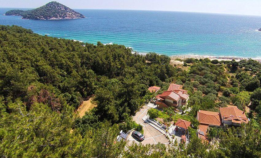 Agatha Studios Paradise Beach Tasos grcka