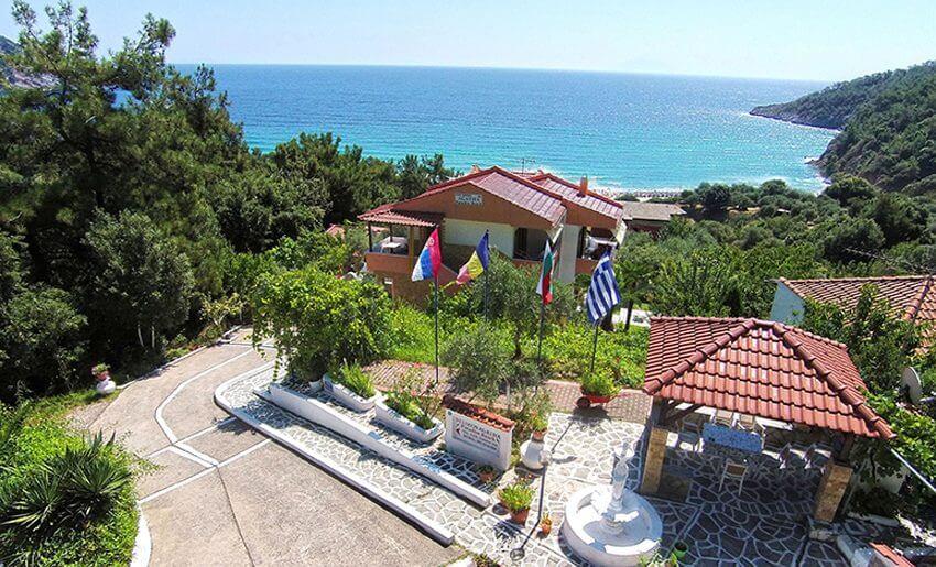 Agatha Studios Paradise Beach Tasos leto