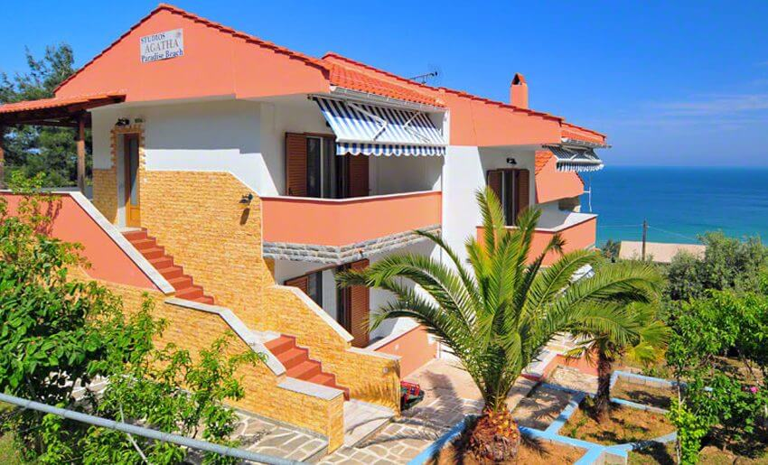Agatha Studios Paradise Beach grcka letovanje
