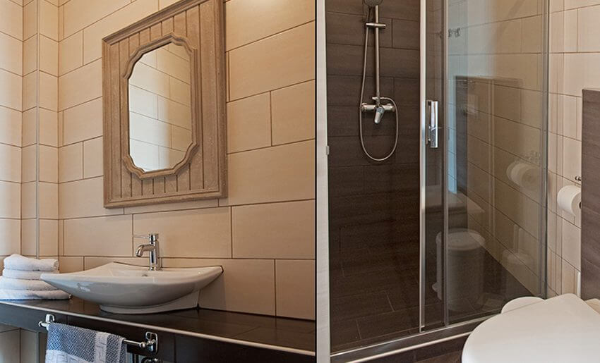 Agorastos Hotel Kinira Tasos kupatilo