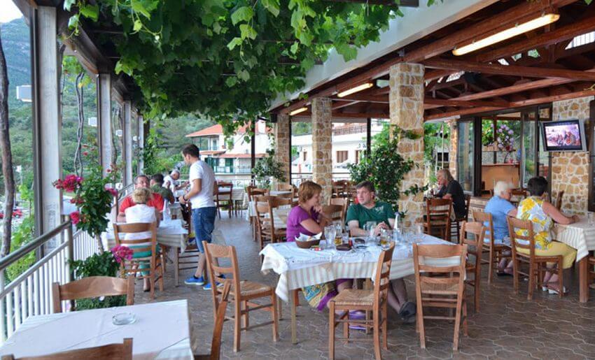 Agorastos Hotel Kinira Tasos taverna