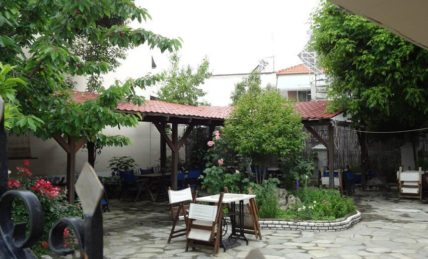 Akropolis Hotel Limenas Tasos dvoriste
