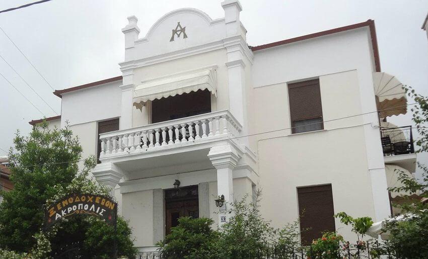Akropolis Hotel Limenas Tasos grcka 1