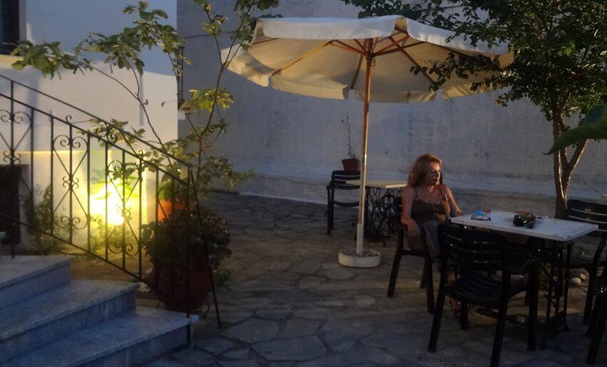 Akropolis Hotel Limenas Tasos grcka dvoriste