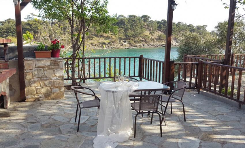 Aliki Stone House Tasos grcka leto