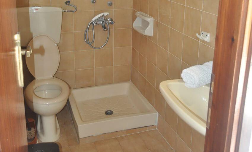 Assos Vila Tasos kupatilo