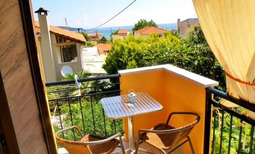 Barbara Studios Golden Beach Tasos grcka leto