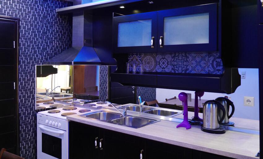 Blue Sky Villas apartmani kuhinja