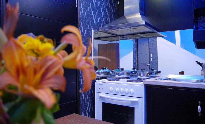 Blue Sky Villas kuhinja