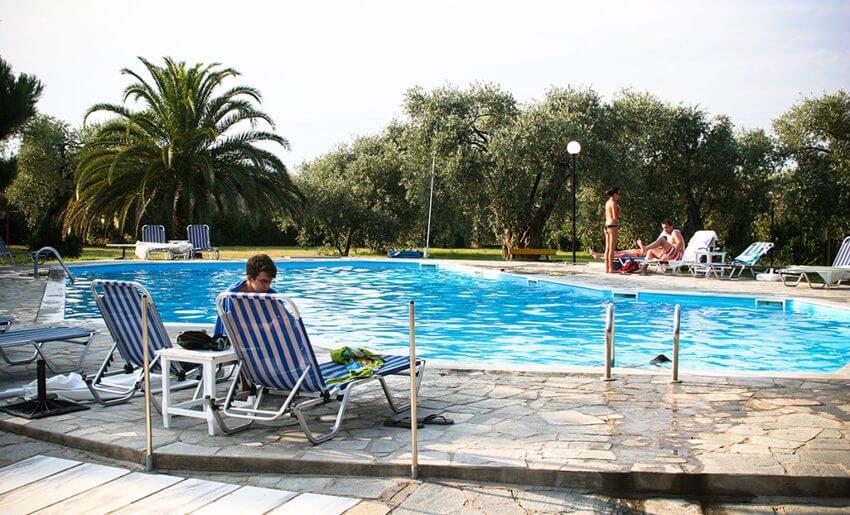 Chatziandreou Hotel Tasos grcka bazen