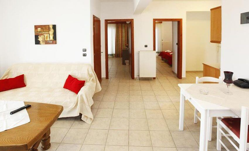 Christa Hotel limenas tasos letovanje apartman