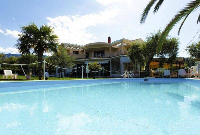 Christa Hotel limenas tasos letovanje bazen 1