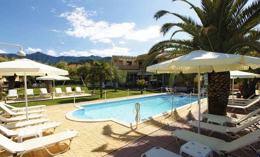 Christa Hotel limenas tasos letovanje grcka bazen
