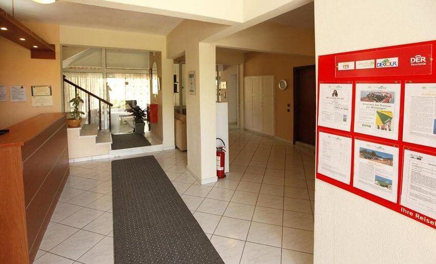 Christa Hotel limenas tasos letovanje recepcija