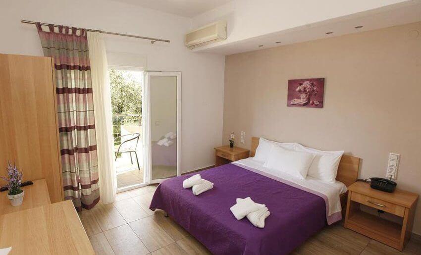 Christa Hotel limenas tasos letovanje sobe
