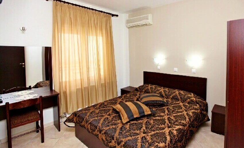 Delfini Hotel golden beach tasos apartman