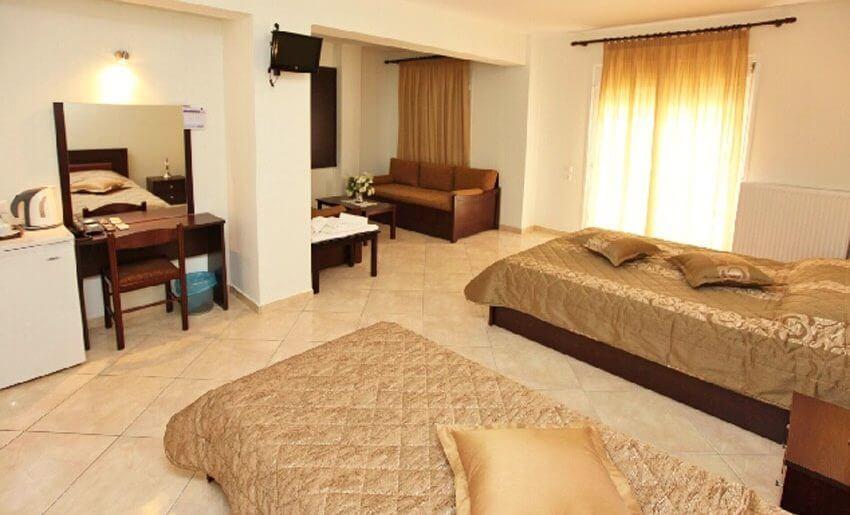 Delfini Hotel golden beach tasos smestaj