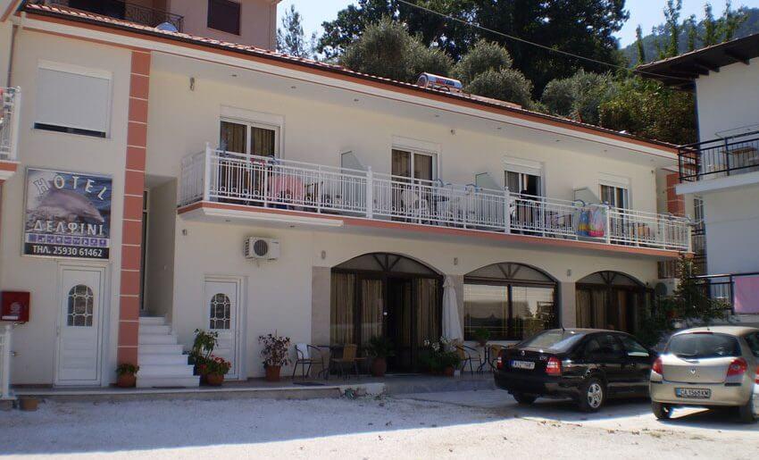 Delfini Hotel tasos skala potamia