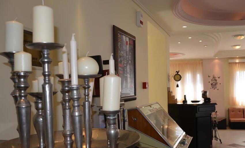 Egeo Hotel Tasos grcka letovanje lobi