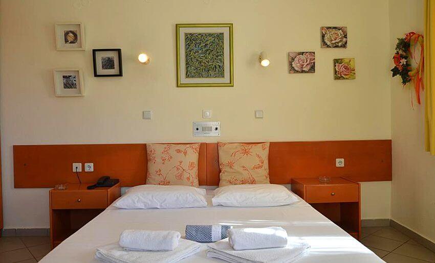 Egeo Hotel Tasos grcka letovanje sobe