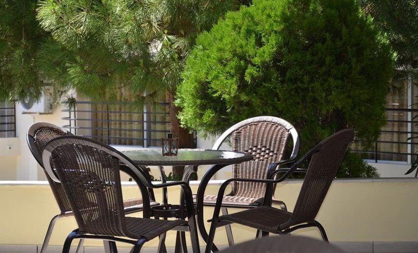 Egeo Hotel Tasos grcka letovanje terasa