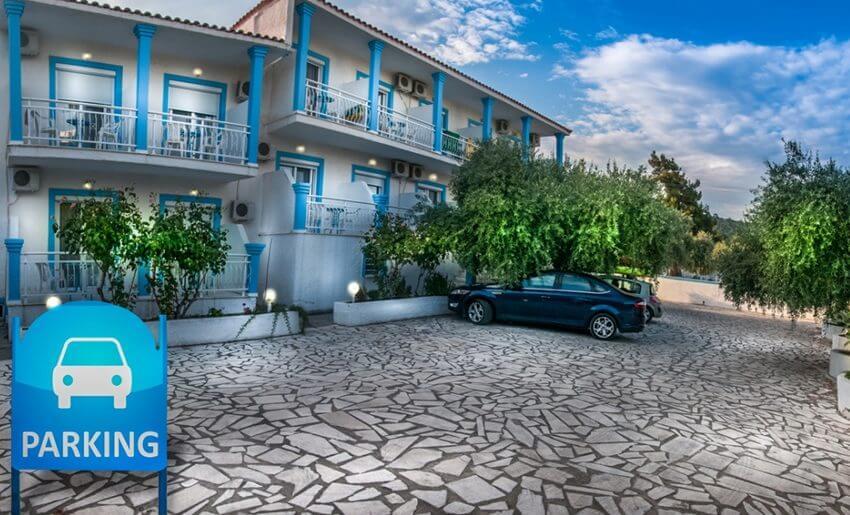 Euro Park Hotel Astris Tasos parking