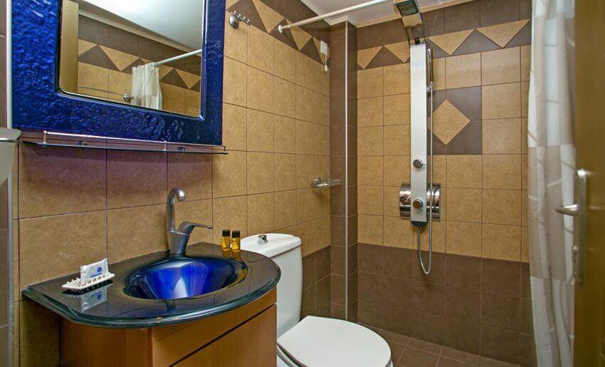 Garden Hotel Limenarija Tasos kupatilo