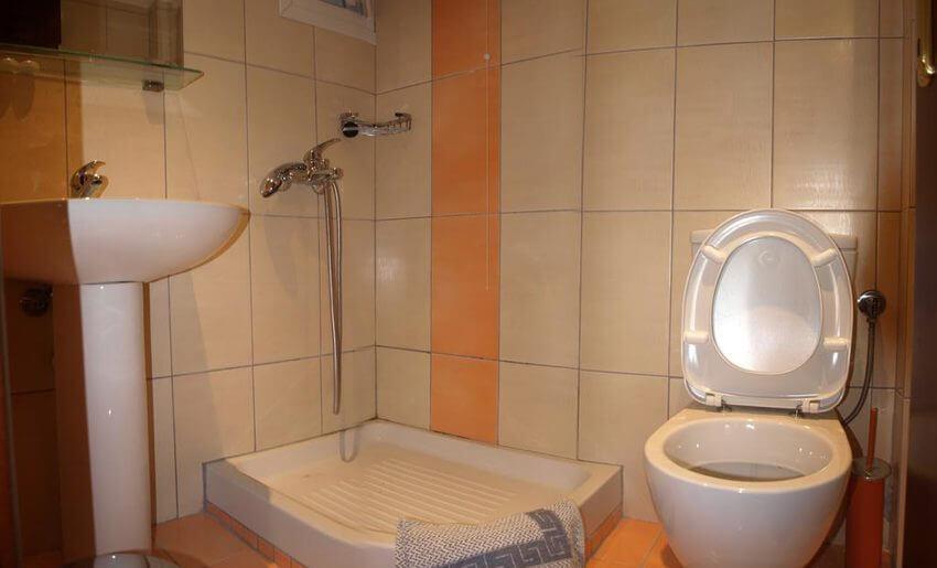 George Hotel Limenarija Tasos kupatilo