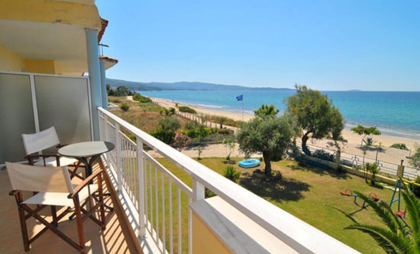 Giannikis Studios limenarija tasos balkon