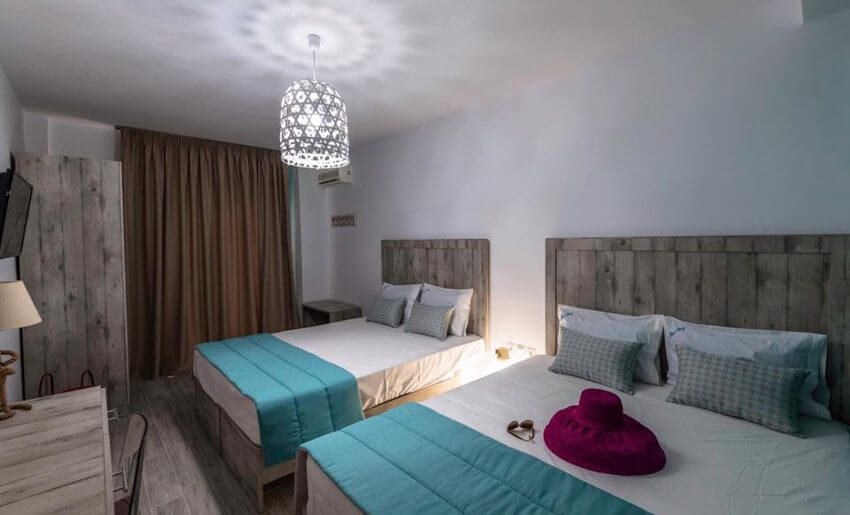 Hotel Blue Bay golden beach tasos grcka letovanj