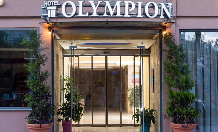 Hotel Olimpion Potos Tasos letovanje grcka