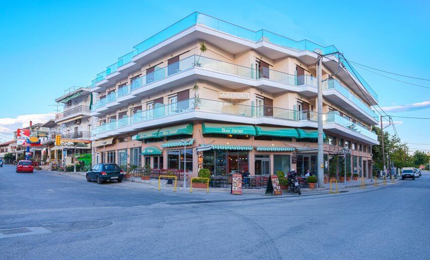 Hotel Olimpion Potos Tasos letovanje