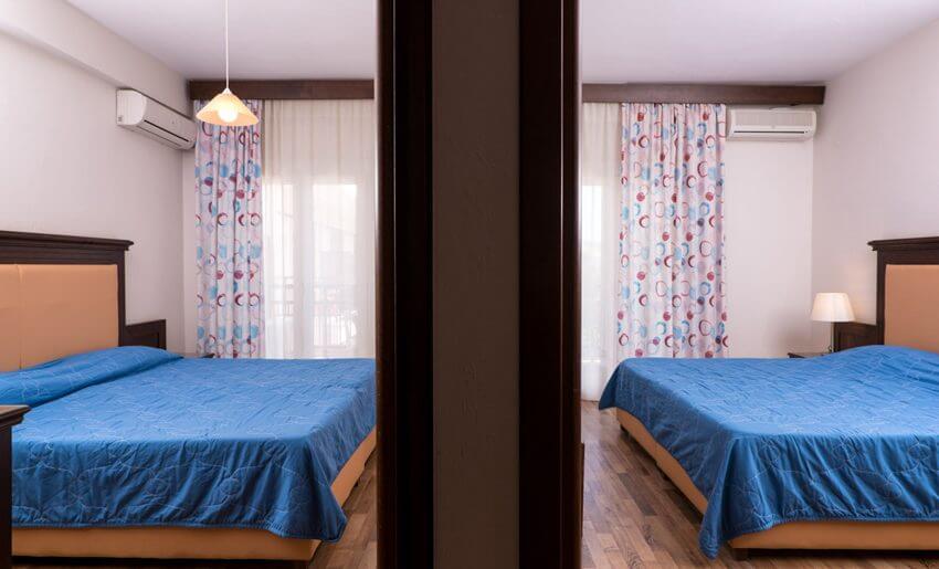 Hotel Olimpion Potos Tasos smestaj porodicna soba