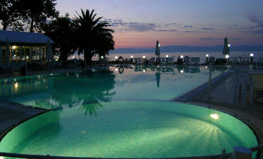 Hotel Vournelis limenas tasos grcka letovanje bazen