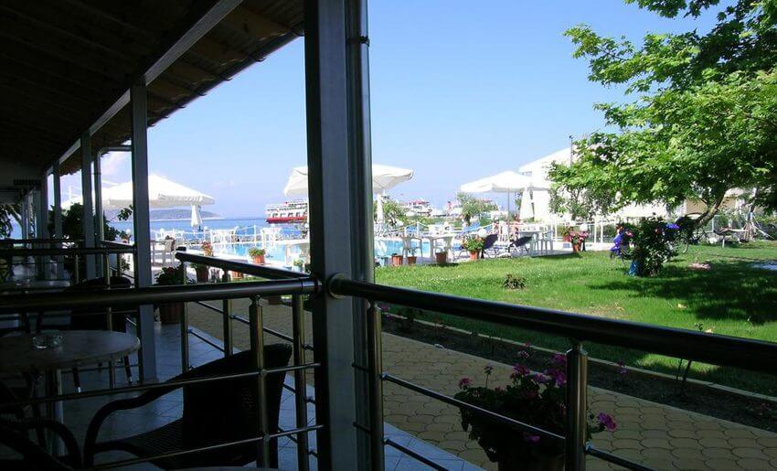 Hotel Vournelis limenas tasos letovanje grcka