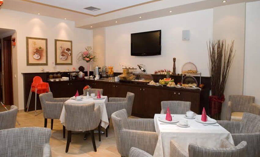Metsikas Residence tasos Limenas restoran