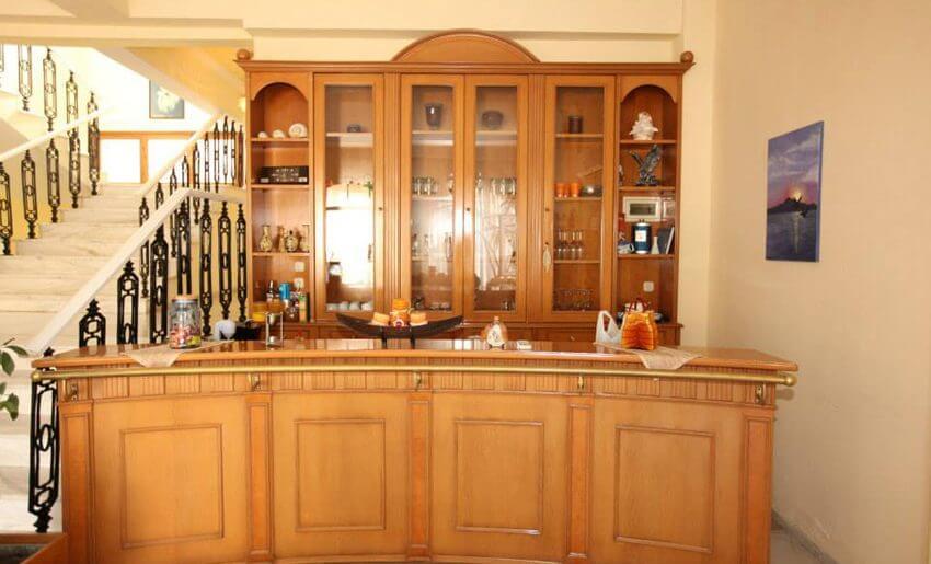 Mironi Hotel Limenas tasos recepcija
