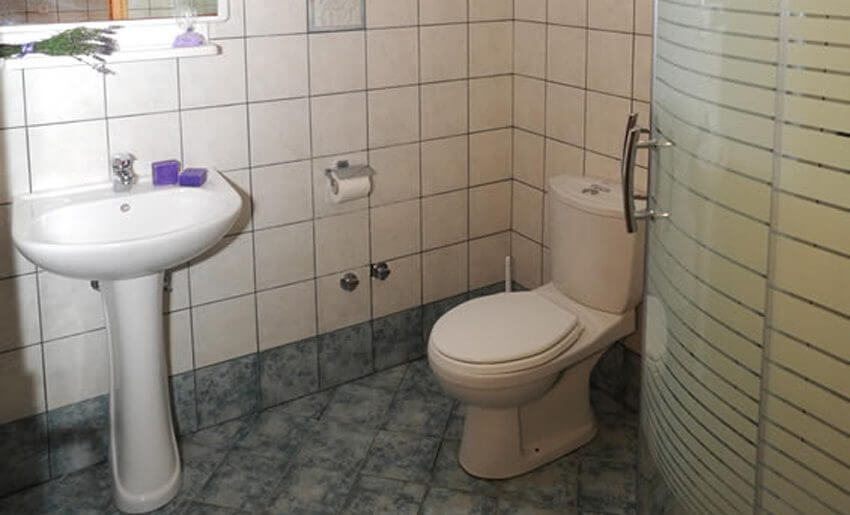 Mitos BungalovI Potos Tasos kupatilo