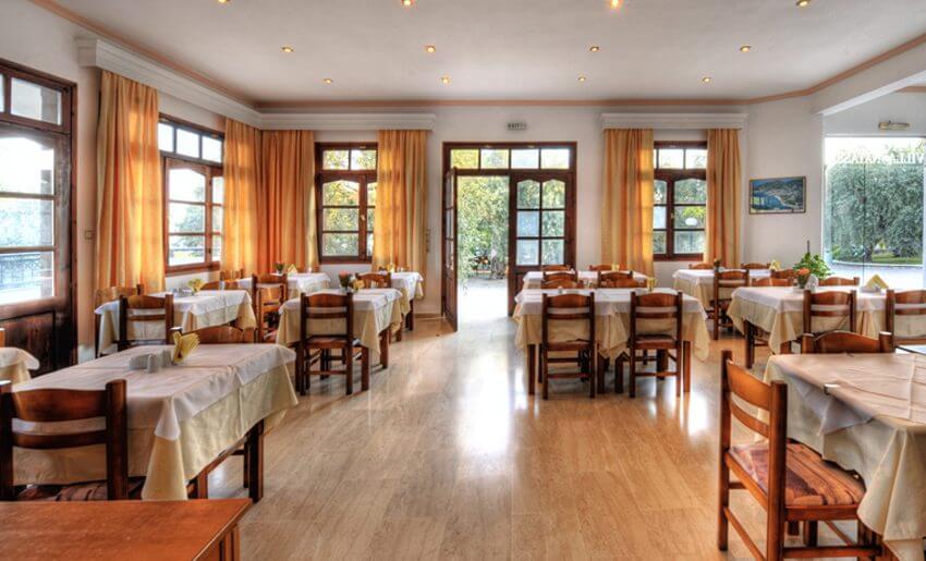 Natasha Hotel Vila Tasos Restoran