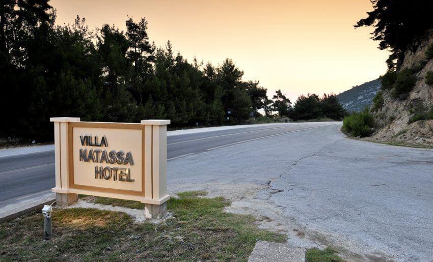 Natasha Hotel Vila Tasos letovanje grcka