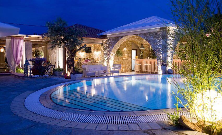 Nikoleta Luxury Vila bazen