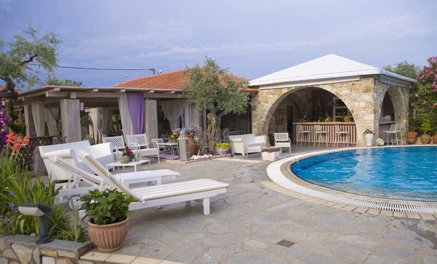 Nikoleta Luxury Vila grcka bazen