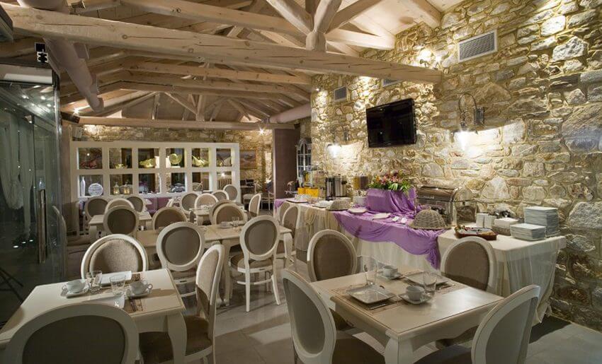 Nikoleta Luxury Vila grcka restoran