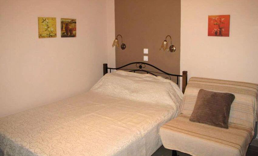 Ostria Hotel Tasos soba