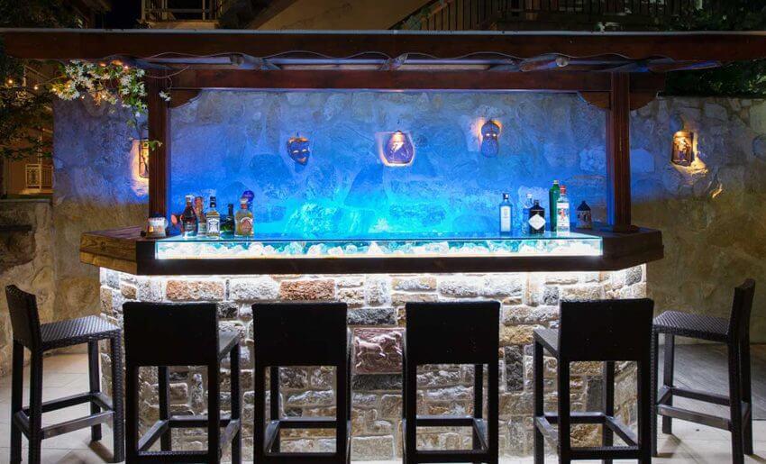 Pegasus Hotel tasos limenas bar