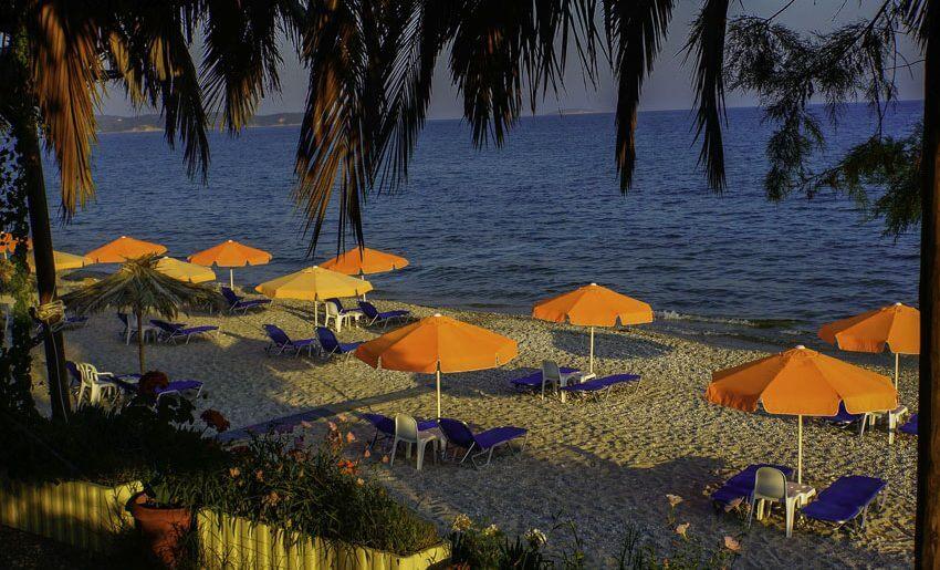 Stelakis Beach Hotel limenarija tasos letovanje