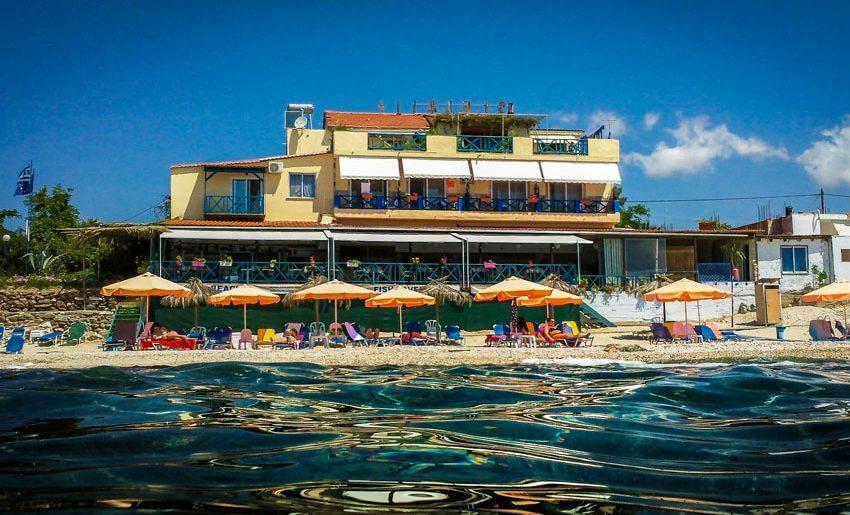 Stelakis Beach Hotel limenarija tasos