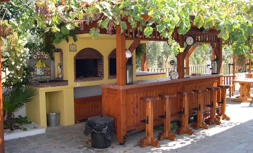 Vila Aegean Potos tasos bar