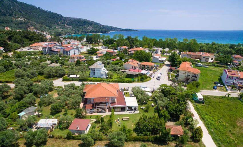 Vila Escape Golden Beach tasos leto